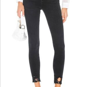 AGOLDE Sophie Mid Rose Ankle Jeans in Scout 26